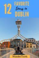 12 best tours in Dublin Pinterest Pin