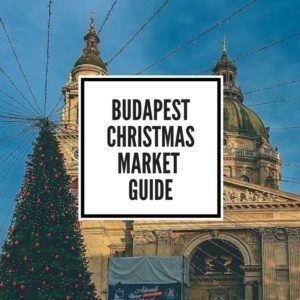 Hotels near Budapest Christmas Markets Feature Image