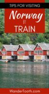 Norway by Train Pinterest Pin