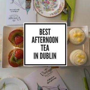 Best Afternoon Tea in Dublin Feature Image