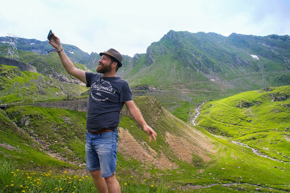 best driving road romania transfagarasan