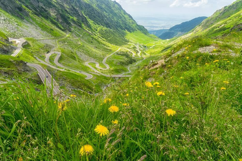Best Road in Romania Transfagarasan Photo 1