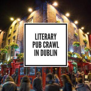 Dublin Literary Pub Crawl Dublin Pub crawl Feature Image