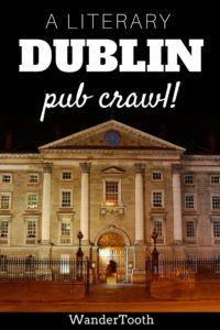 Dublin Pub Crawl Pin