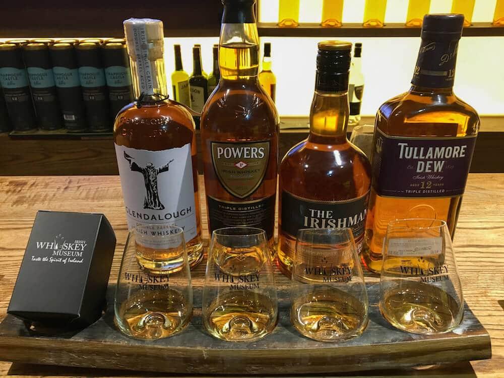 Irish Whiskey Museum Dublin Whiskey Tour Tasters
