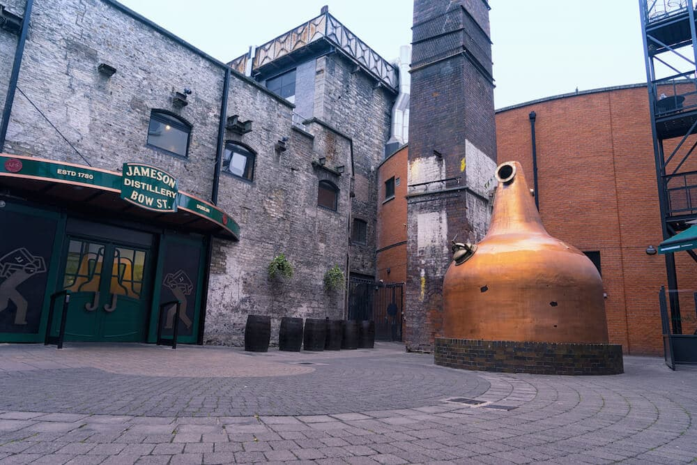 Jameson Whiskey Tour Dublin Jameson Exterior