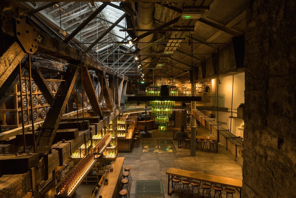 Jameson Whiskey Tour Dublin Jameson Interior