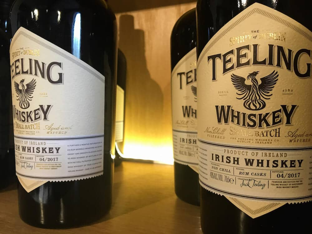 Teeling Distillery Teeling Whiskey Bottles