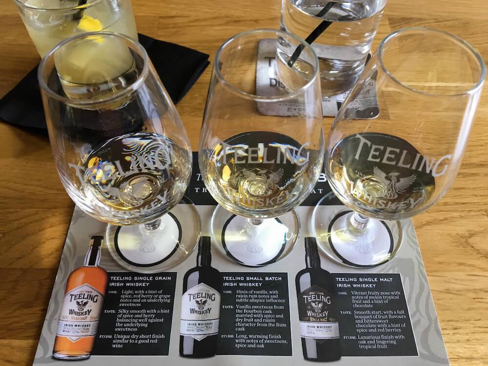 Teeling Tasting Dublin Distillery Tour