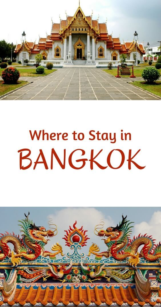Where to Stay in Bangkok Pinterest