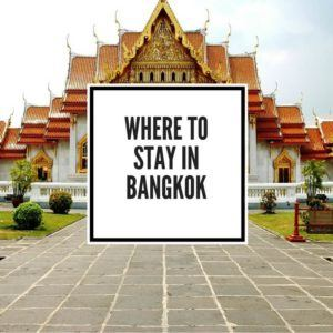 Where to Stay in Bangok Feature Image