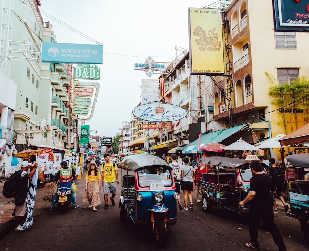 Khaosan Road Where to Stay in Bangkok