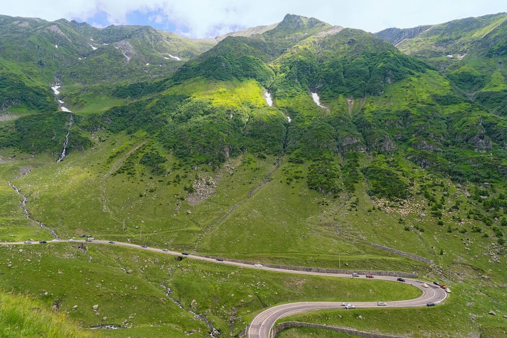 transfagarasan highway greatest driving road in the world top gear