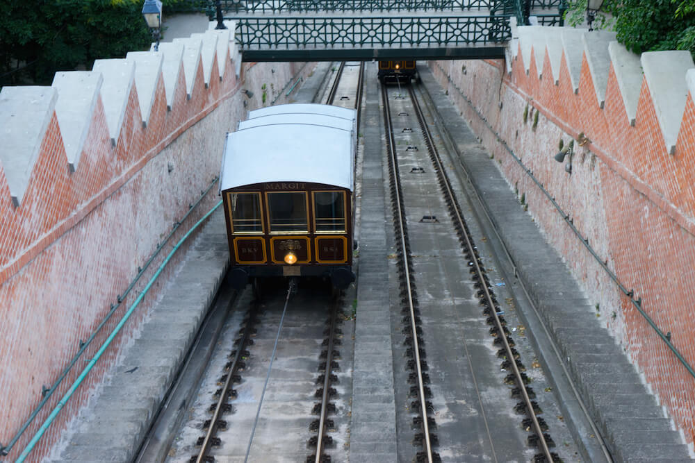Funicular to Budapest Castle District