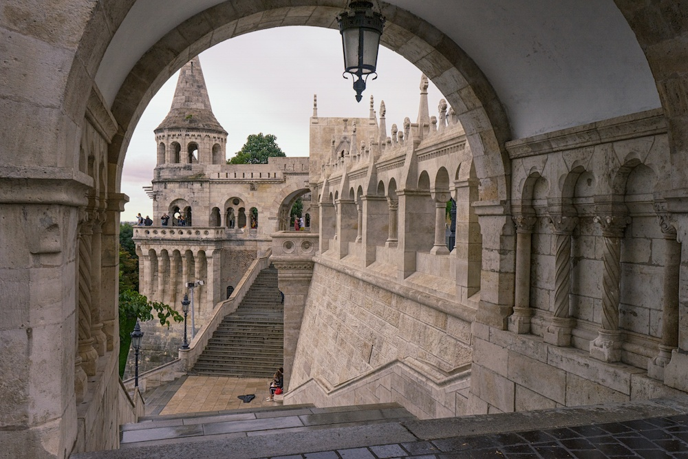 Fishermans Bastion Budapest Castle District