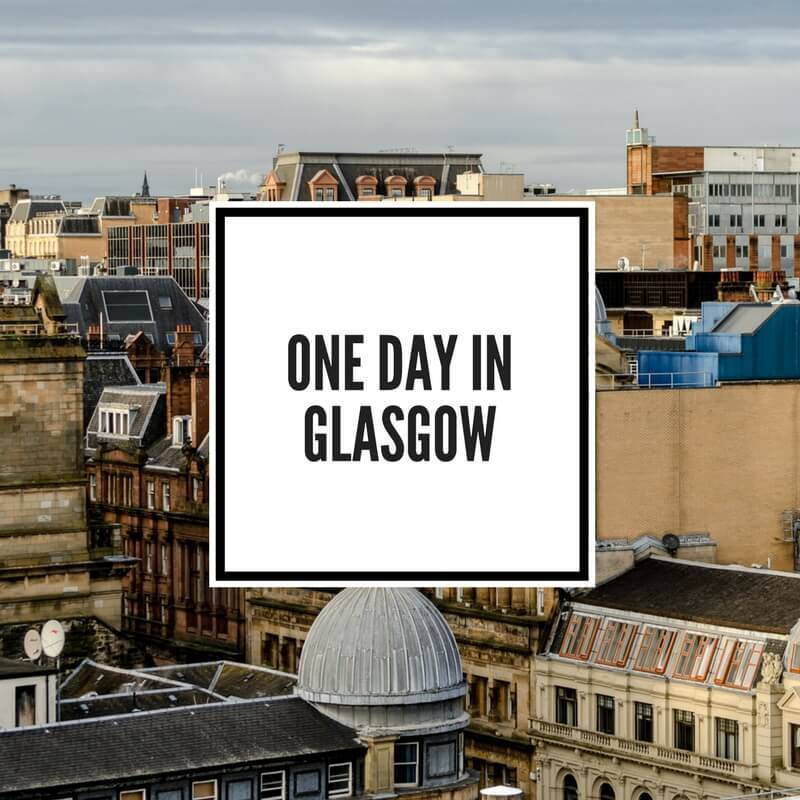 One Day in Glasgow Feature Image