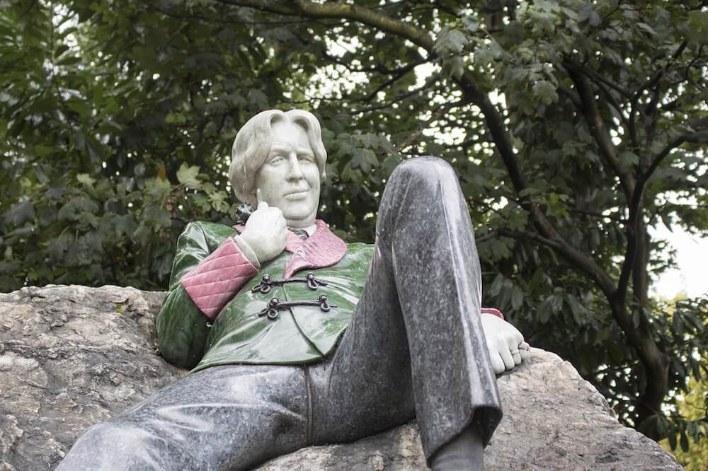 Oscar Wilde Statue Dublin