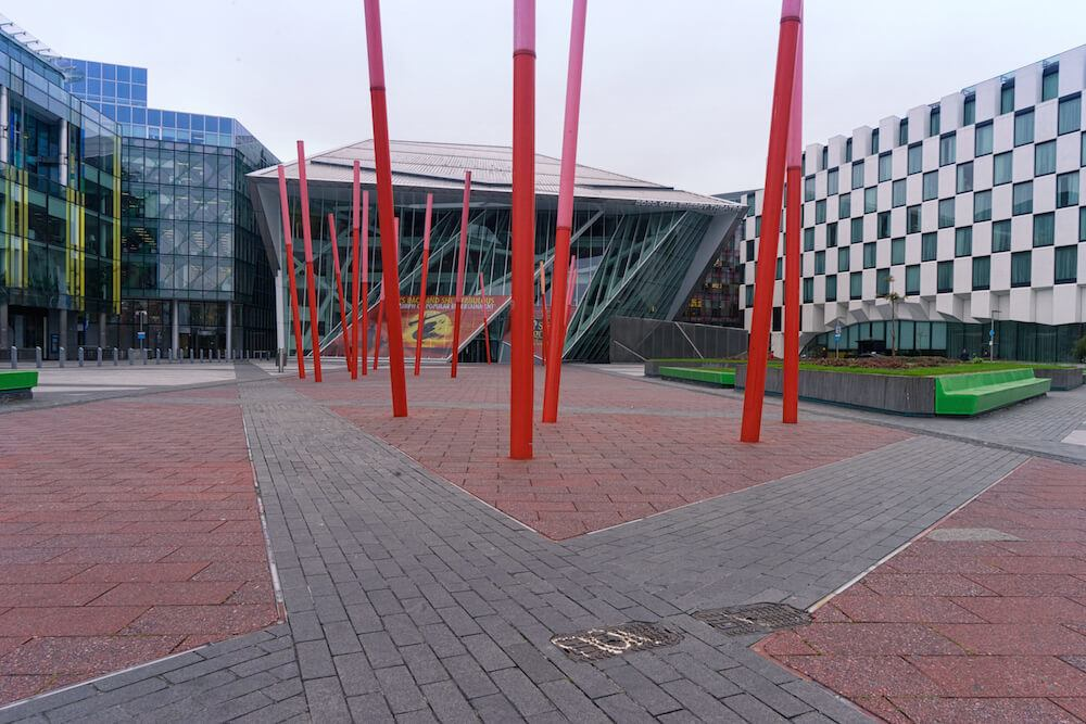 Bord Gáis Energy Theatre exterior Dublin