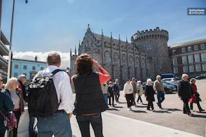 Dublin walking tour,