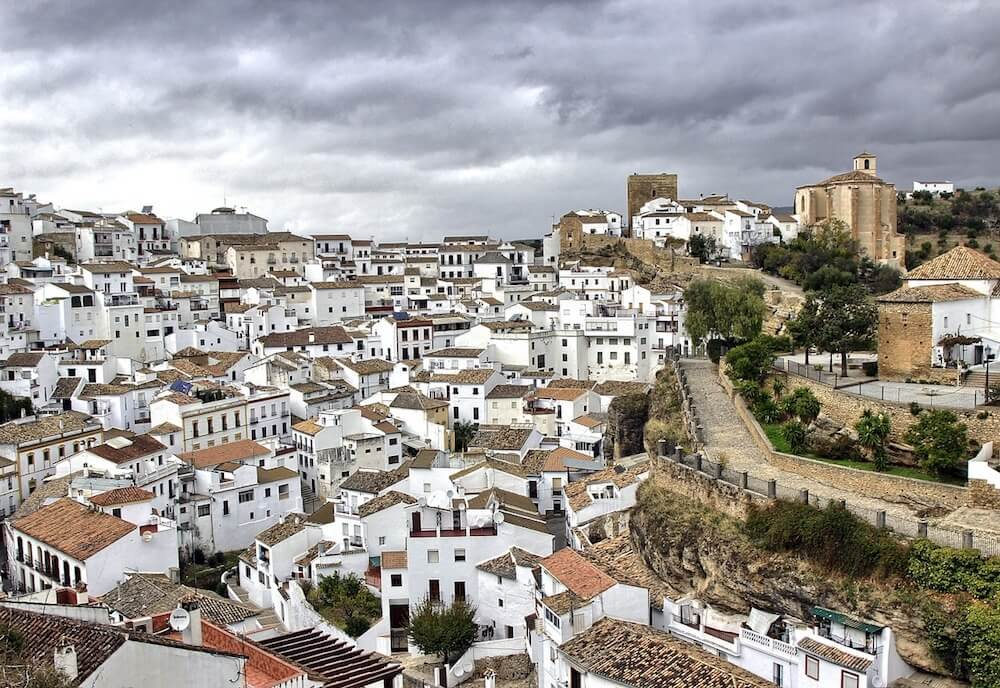 Pueblos Blancos Andalusia Spain