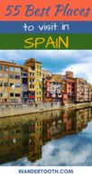 Best Places to Visit in Spain Pinterest Pin 1