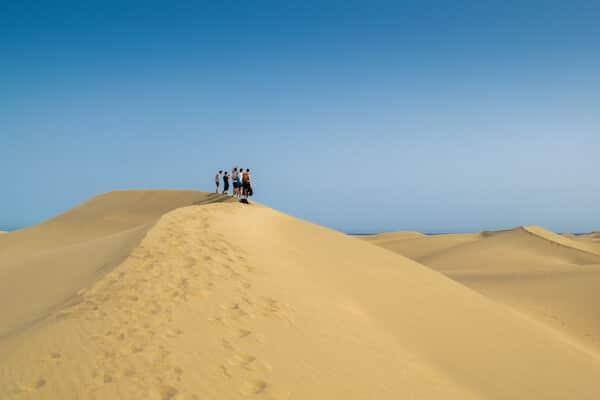 Gran Canaria Sand Dune Spain