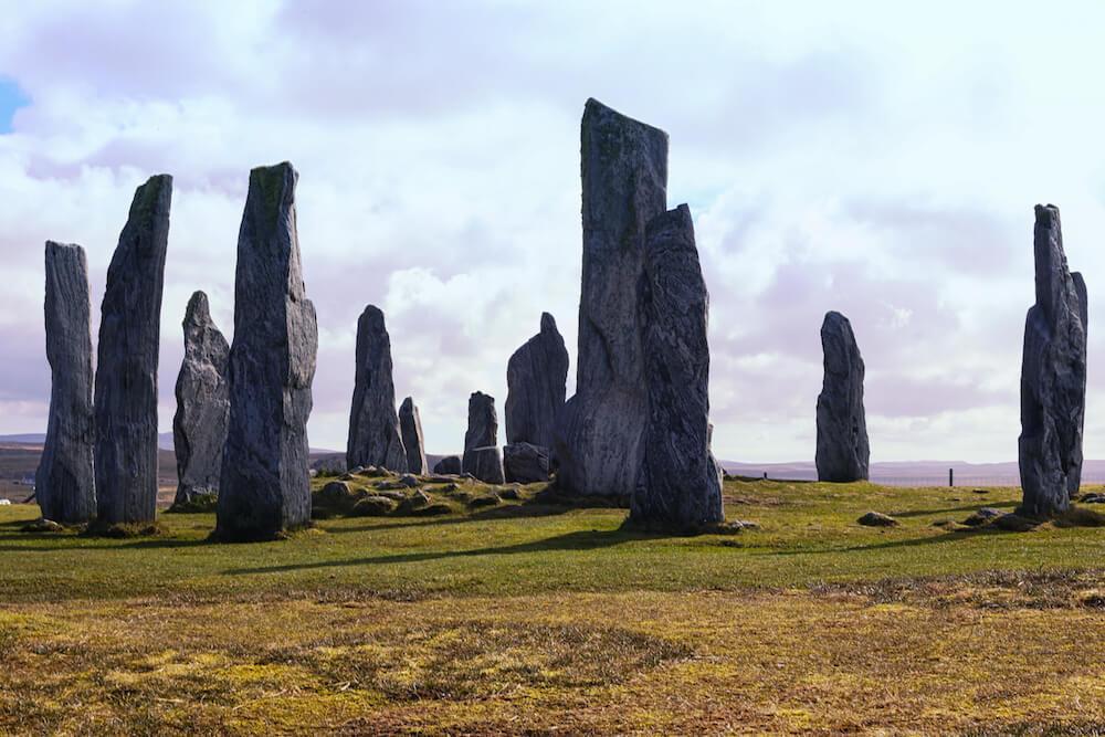 Isle of Lewis Harris Scotland Standing Stones