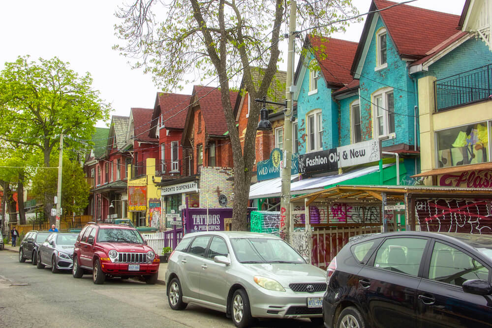 Kensington Market best areas to stay in Toronto