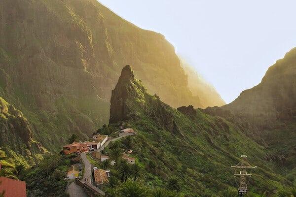 Masca Tenerife Spain