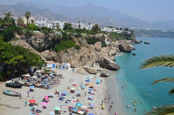 Nerja Spain Beach