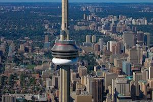 A helicopter ride in Toronto is amazing