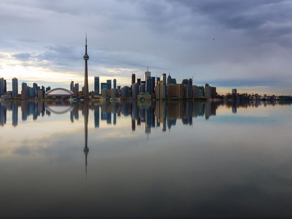 Get the best view of Toronto from Centre Island