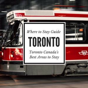 A City guide featuring all the best Toronto places to stay