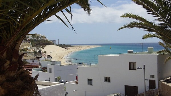 fuerteventura spain beach