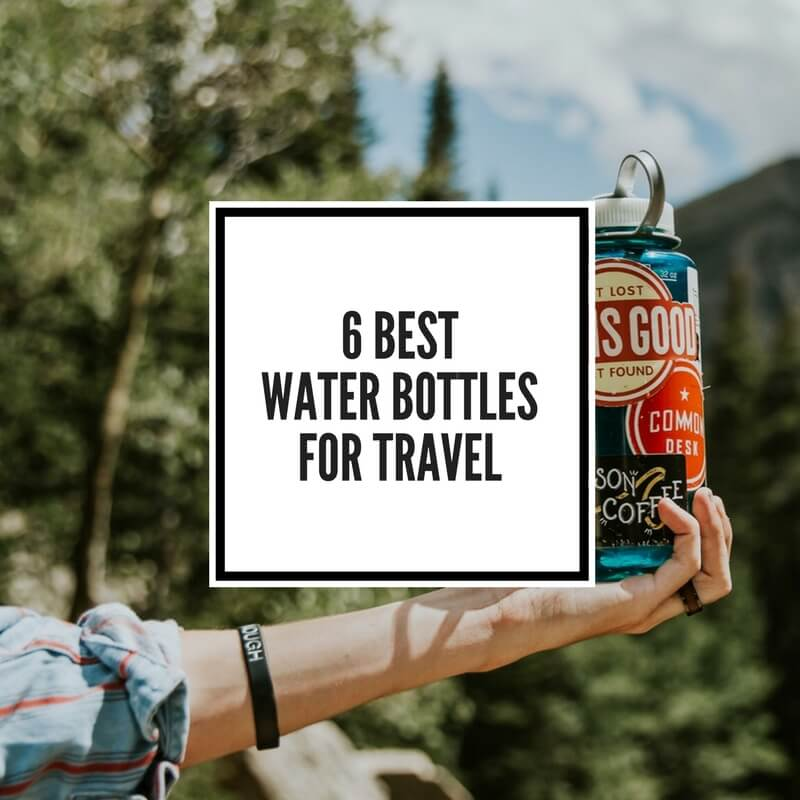 A blog post dedicated to answering the question: what is the best reusable water bottle for travel?