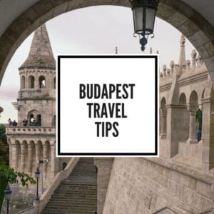 Budapest travel tips feature image