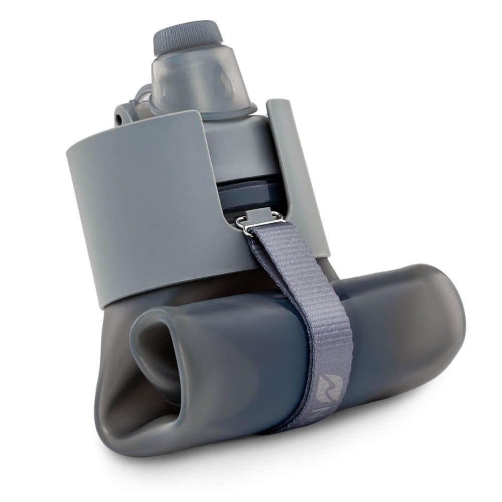 Our choice in the travel water bottle collapsible category is the Nomader Collapsible bottle
