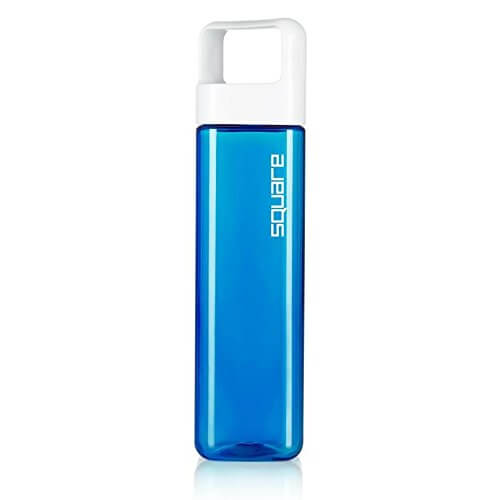 Square by Clean Bottle is our pick for the best brand of water bottle for flights