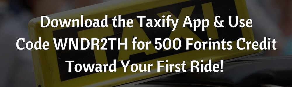 Taxify Discount Code Budapest