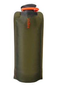The Vapur Eclipse water bottle is our choice for the best soft water bottle and best water bottle backpacking