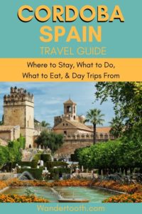 Where to Stay in Cordoba Spain + Cordoba Spain Travel Guide II If you're heading to Andalusia, don't miss lovely Cordoba! In this guide, an expat in Andalusia shares the best things to do in Cordoba, where to eat in Cordoba, and where to stay, too! Click to Read our Guide. Cordoba Spain I Cordoba Spain Travel I Cordoba Spain Things to Do In I