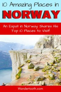 Trying to decide where to go on your Norway trip? Look no further! We've pulled together the 10 best places to visit in Norway to help you with your Norway trip planning! Click to Read the Post! Norway Travel Guide I Norway Trip I Where to Go in Norway I Travel Norway I #Norway #Europe #Travel