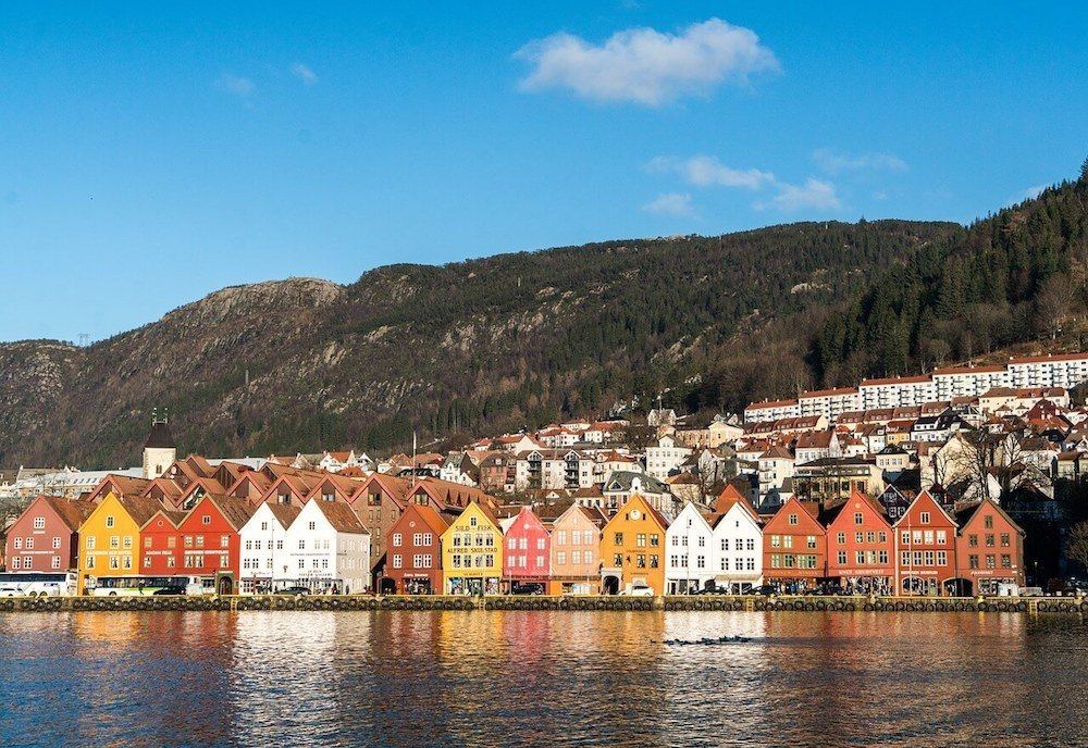 Bergen is one of the most picturesque and best cities in Norway