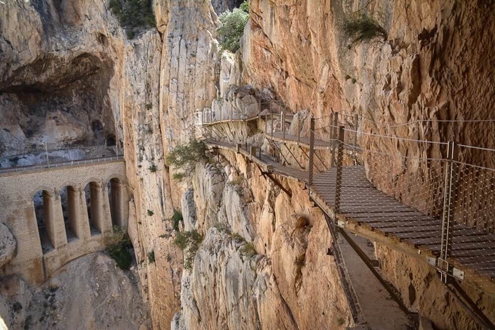 Caminito del Rey Tour is one of the best things to do in Costa del Sol