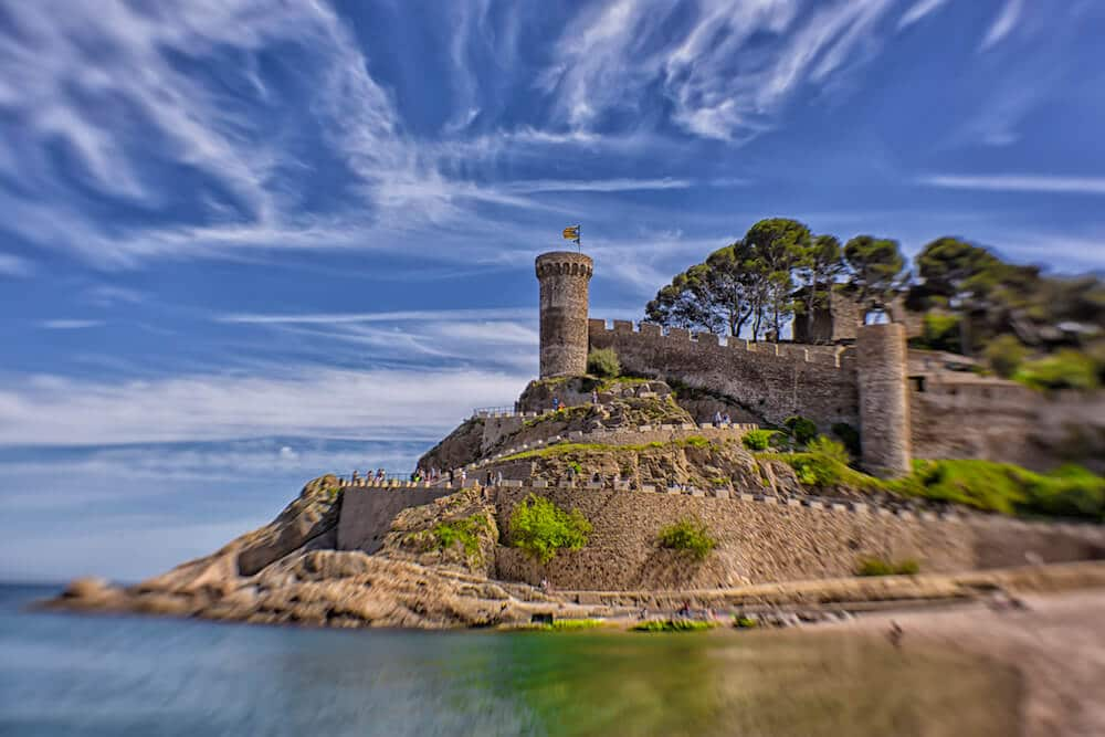 Tossa de Mar is one of the best places to go in costa brava