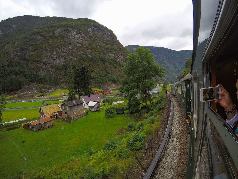 The Flam Railway is one of the best train trips in Norway