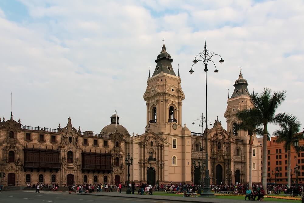 Historic center is where to stay in lima for one night