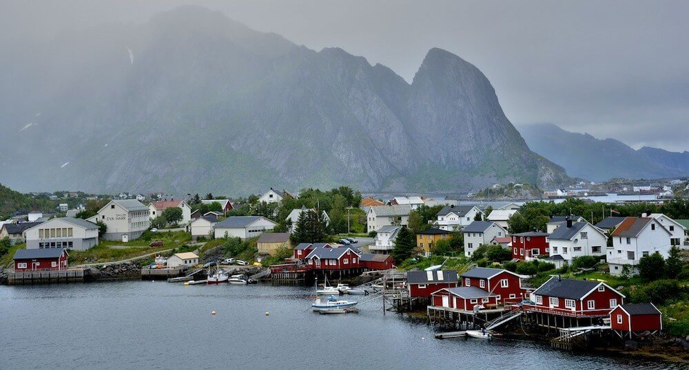 Lofoten Island is one of the most beautiful places in Norway maybe even the world
