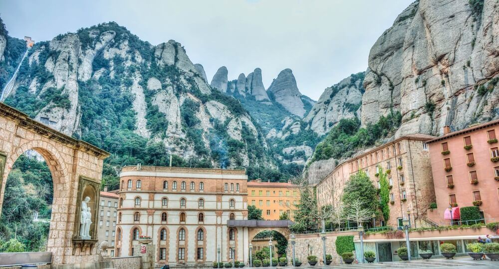 Trips around Barcelona must include a day trip to Montserrat