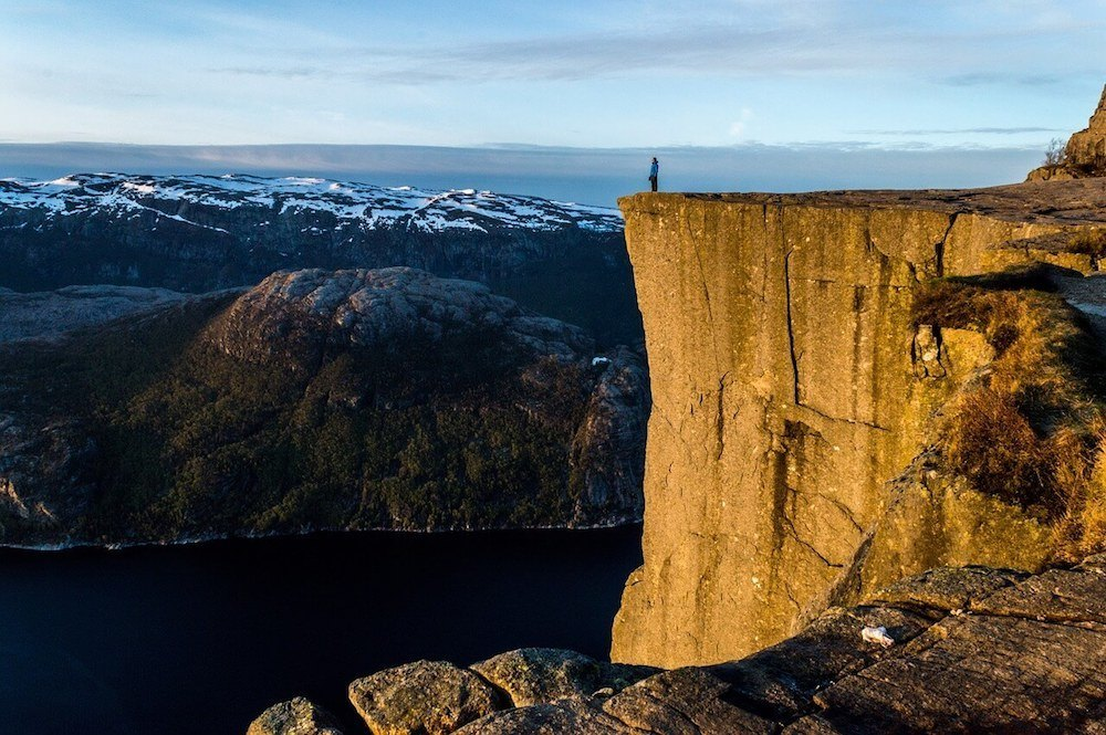 Pulpit Rock is considered one of the best hikes in Norway